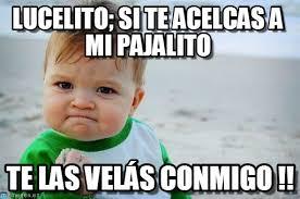 Lucero Meme - lucero asesina success kid original meme en memegen