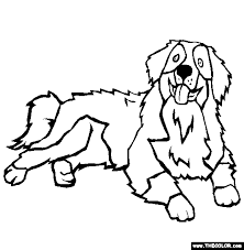 Coloring Page Dogs Funycoloring Coloring Page Dogs