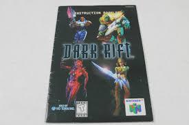 n64 price guide manual dark rift rare nintendo n64