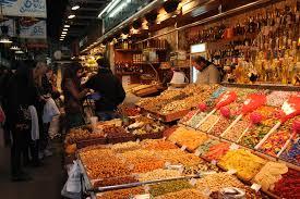 barcelona market la boqueria