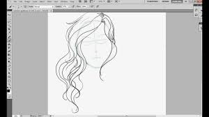 how i draw wavy hair youtube