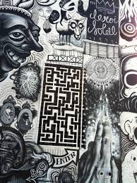 Mural Collaboration by Antiquated Alchemical Machinations Mural Collaboration With En Masse