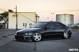 toyota altezza stance lau is300 u2013 fatlace since 1999