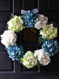 hydrangea wreath hydrangea wreath