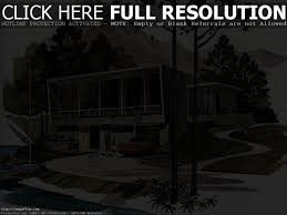 mid century modern house plans small homes vintage plan 50s home