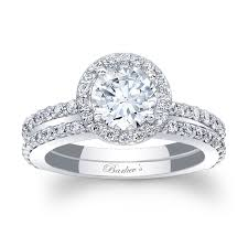bridal set rings bill engagement rings