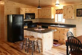 Country Style Kitchen Islands Kitchen Room Laminate Wood Floor Wooden Kitchen Cabinet Cheap