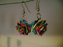 home made earrings diy duct earrings 101 duct crafts