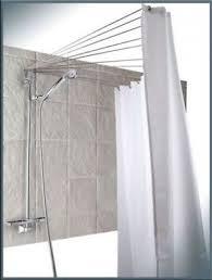 supporto tenda doccia bastone per tenda doccia asta di angolo a pressione della eur 25
