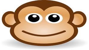 cute cartoon monkeys