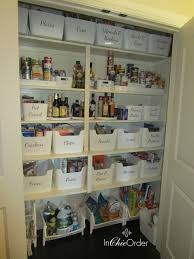 before and after kitchen organization makeover in chic order