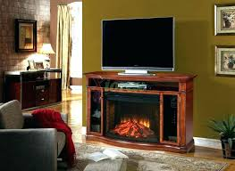 Realistic Electric Fireplace Electric Fireplace With Sound Entertainment Area Wired For