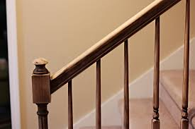 Metal Banister Spindles How To Paint Stairway Railings Bower Power