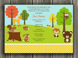 Free Baby Shower Invitation Templates Woodland Baby Shower Invitations Templates