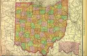 Map Ohio Counties by Hardin County Index