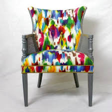 Accent Chairs For Dining Room Leopard Print Accent Chair Foter Sure Fit Statement Prints