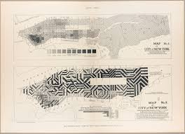 New York Crime Map by The Tenement House Committee Maps Cornell University Library