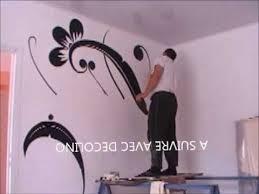 dessin mural chambre dessin et peinture sur le mur 2