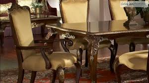 imperial court dining room collection from aico furniture youtube
