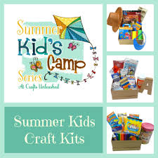 kids crafts for summer camp