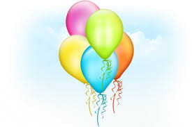 free balloons balloons psd template psd file free