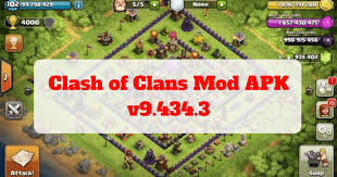 apk only clash of clans mod apk v9 434 3 50mb only all apk softs