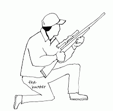 get free deer hunters coloring pages widetheme coloring home