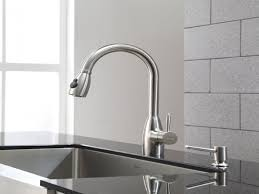delta faucets kitchen delta cassidy chrome single handle pullout