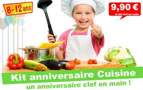 kit de cuisine enfant kit anniversaire top cuistot panique en cuisine 8 12 ans
