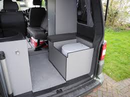 camper van with bathroom how to redesign a van to live out of it camper life daily