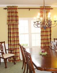 dining room curtains and valances home design