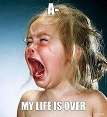 My Life Is Over Meme - super excited baby meme meme maker omg im so excited