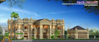 Colonial House Plan Luxury House Plans With Photos In Kerala Ideasidea