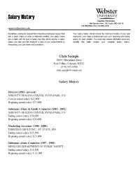 cover letter salary history on resume vanezaco inside 21