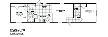 2 bedroom mobile home plans model 941 14x60 2bedroom 2bath oak creek mobile home jpg 1 055 369