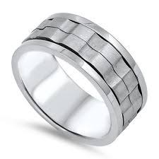 gear wedding ring mens gear ring ebay