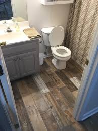 Mobile Home Bathroom Makeovers - really want to paint the bathroom cabinents this espresso color