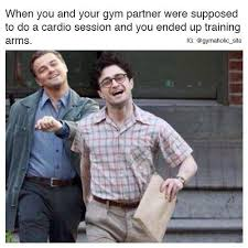 Workout Partner Meme - when you and your gym partner fitness humor pinterest gym gym
