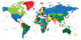 World Map No Labels by