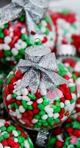 diy ornaments with hershey s kisses small