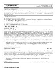Architectural Resume Sample by Solution Architect Resume Sample Resume For Your Job Application