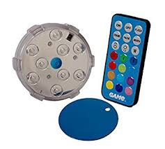 How To Replace Pool Light Amazon Com Game Waterproof Magnetic Led Color Changing Pool Wall