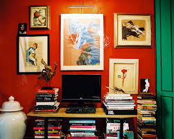 throwback home tour nick olsen u0027s tiny red apartment small