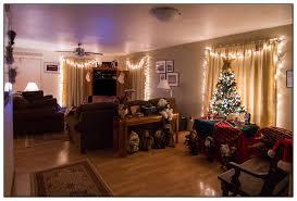christmas lights around living room living room 2017