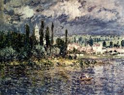 landscape with thunderstorm 1880 claude monet wikiart org