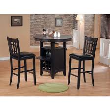 pub table with wine rack redding regency jasper 3 piece pub set with wine storage table and 2