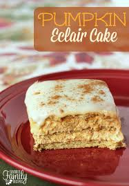 light pumpkin dessert recipes this pumpkin eclair cake made with cinnamon graham crackers has a