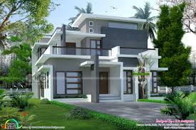 2238 sq ft modern contemporary house in kerala kerala home