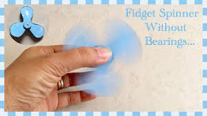 fidget spinner out of waste material diy home made fidget