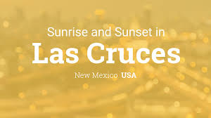 Las Cruces Zip Code Map by Sunrise And Sunset Times In Las Cruces